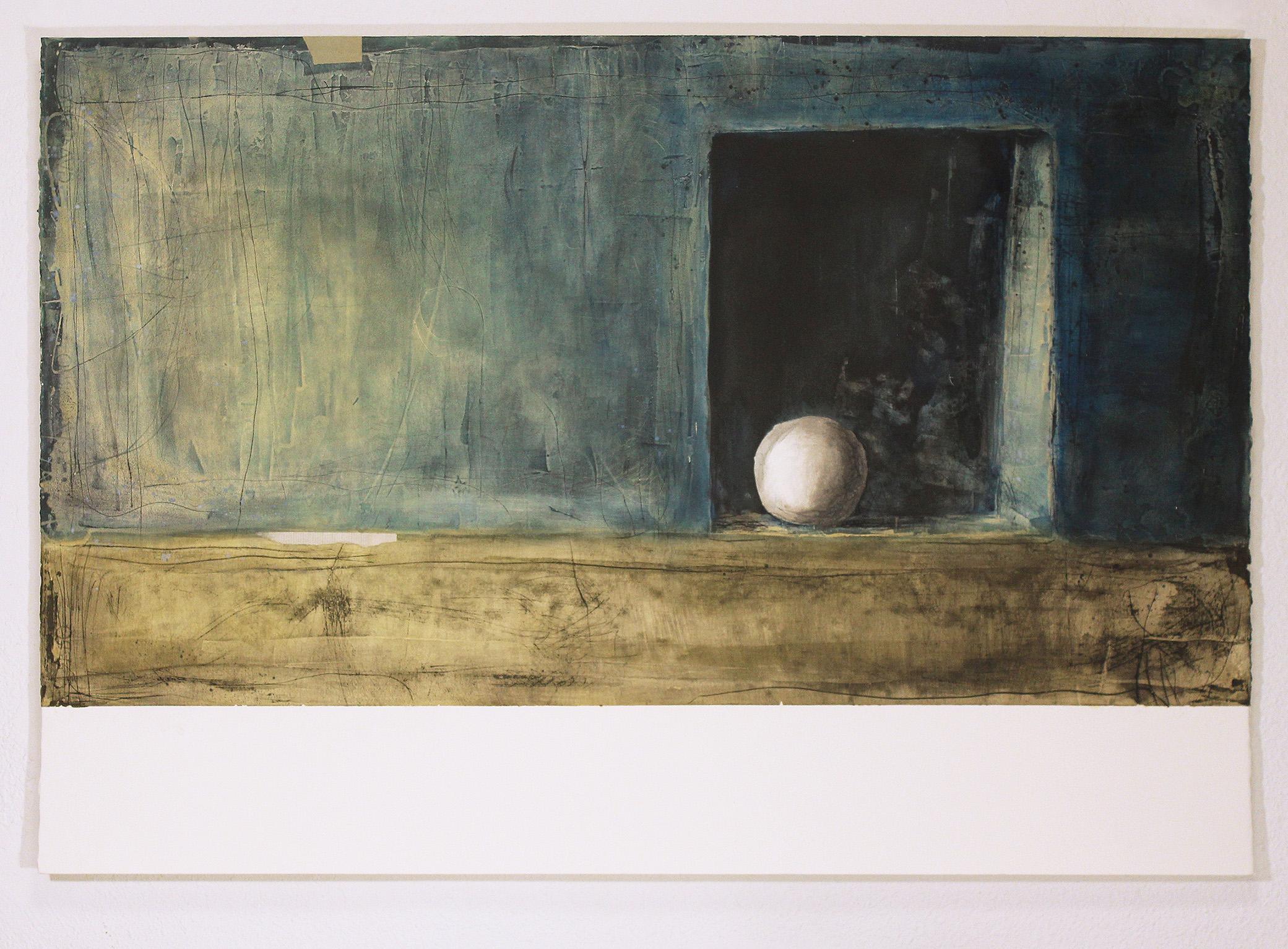 Homenatge a Toni Catany III. Mur blau
