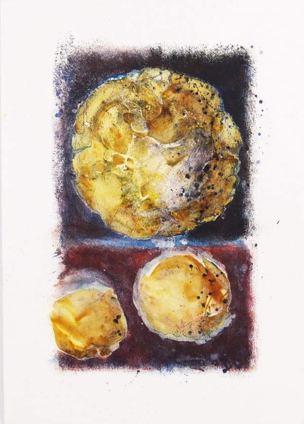 3 Planetes. Sèrie glaze